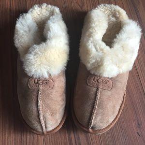 Men's Chestnut Cozy slippers/mocassins-NWOT